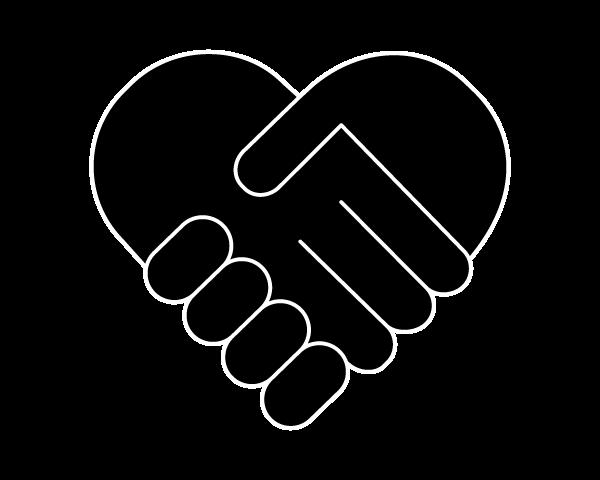 Community Empowerment Program Heart Hands Icon